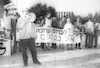 Aliya activists, demonstrated outside the Knesset, calling the government to take staps for the immigration of the Soviet Jews – הספרייה הלאומית