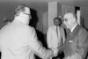 Egyptian Foreign Minister Abdul Magid met with Palestin ian leaders in Herzlia hotel – הספרייה הלאומית