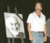 Last honour to the fruitfull dramatist Yehezkel Hezkiahu by famous worldwide Israeli actor Topol Haim.