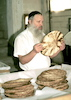 No less than 15,000 special matzot are being produced in a two month period at the Habad matzah bakery of Kfar Habad - for the approaching Pesach (Passover) holiday, These particular matzot (matza shmura) are made according to Habad tradition in exactly the same way as they were made by the children of Israel escaping slavery in Pharaoh's Egypt thousands of years ago.: