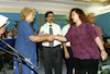 Culture Minister Shulamit Aloni attended on June 30,.