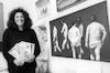 Christina Kadmon, illustrator of many books held an exhibition of her works at a Tel Aviv suburb Maoz Aviv – הספרייה הלאומית