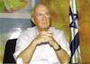 "Portraits of Rabin Itzhak for ""Davar""."