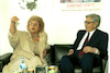 Communication Minister Mrs. Shulamit Aloni attended on 11 May 1995 a summary meeting with a delegation of five communication experts from China – הספרייה הלאומית