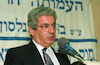 Justice Minister David Libai was the main speaker during the debate of Israel's Law, Constitution and Civil Rights.: