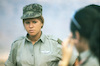 Another girl soldiers recruit course ended with spectacular military Parade – הספרייה הלאומית