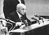 The Knesset held a special meeting to celebrate David Ben Gurion's 85th birthday.