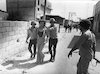 Youngsters of Jericho closed the main road to the city to prevent normal life.: