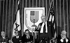 A farewell party given in honour to the USA Ambassador Walwourth Barbour who is leaving the post Israel was given by Foregn Minister Abba Eban – הספרייה הלאומית
