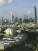 Landscape on Tel Aviv seen from Givatayim.: