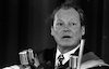 German Chancellor Willy Brandt visiting Israel.