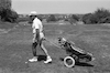 A Golf Club of the South African immigrants I Israel enjoing the facilities at the Ceasarean Golf Club – הספרייה הלאומית