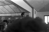 מפגש של חניכי מוסד גלבוע עם אבא קובנר וגדעון האוזנר התובע במשפט איכמן, פבר' – הספרייה הלאומית
