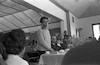 מפגש של חניכי מוסד גלבוע עם אבא קובנר וגדעון האוזנר התובע במשפט איכמן, ארתור בן ישראל, קדמי פבר' – הספרייה הלאומית