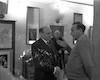 מפגש של חניכי מוסד גלבוע עם אבא קובנר וגדעון האוזנר התובע במשפט איכמן, אריה קרפ (פודי) פבר' – הספרייה הלאומית