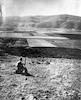 """רפרודוקציה 1938 נוטר שומר על חריש ביער קה""""ק. ממול הגלבוע – הספרייה הלאומית"""