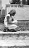 הרקדנית ג. ואן סקוט מבקרת בבית שטורמן – הספרייה הלאומית
