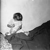 ילדה משחקת עם חתול – הספרייה הלאומית