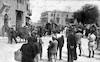 יחידת צבא גרמנית מגיעה לחאלב - סוריה – הספרייה הלאומית