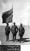 3 חיילים תורכים נושאי דגל – הספרייה הלאומית