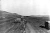 חורף 1917 משאיות צבא שקועות על הדרך ירושלים - שכם – הספרייה הלאומית