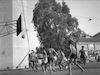 משחק כדור סל בתי ספר תיכון בית אלפא-גן שמואל – הספרייה הלאומית