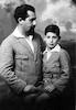 פנחס כהן עם בנו גדעון – הספרייה הלאומית