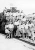 טיול מחזור יג' מקוה ישראל 1933 תחנת הרכבת בביתר – הספרייה הלאומית