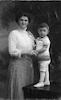 רודי עם אמו – הספרייה הלאומית