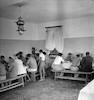 חדר האוכל בכפר הנוער ליד תל חי – הספרייה הלאומית