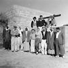 הבאר של חליל עם חברי כפר דרום בביקור 1956 – הספרייה הלאומית