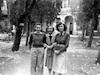 22 נוב' 1948 ליד ארזה. משמאל: שרה, חיה יולס, צילה – הספרייה הלאומית