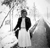 שלג בבית חולים העמק בעפולה והסביבה פברואר 1951 – הספרייה הלאומית