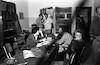 בחדר המורים: גיורא בלפר ישראל זמיר גניה לוין – הספרייה הלאומית
