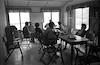 חדר המורים במוסד גלבוע – הספרייה הלאומית