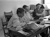 בחדר צוות המורים של וסד גלבוע גנצביץ פרמינגר רחל פליק – הספרייה הלאומית