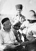 אברהם הרצפלד ביום העליה לקיבוץ מעוז חיים, רפרודוקציה 6-7-1937 – הספרייה הלאומית