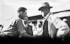 רפרודוקציה לתצלום משנות העשרים, חפציבה צבי דר משמאל מברך את תומס מסריק נשיא צ'כוסלובקיה בביקורו בקיבוץ – הספרייה הלאומית
