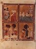 Golden Haggadah Fol. 9 – הספרייה הלאומית