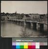 Basel: Die alte Rheinbrücke & Hôtel Trois Rois.