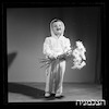 פרסום או-קי, O.K. - נורית Nurith (ילד עם פרחים) – הספרייה הלאומית