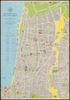 Pictorial map of Tel Aviv - Yafo