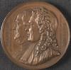 Medaille: Benjamin Franklin et Antoine Moyton – הספרייה הלאומית