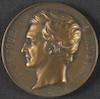 Medaille: Louis Joseph Gay-Lussac – הספרייה הלאומית