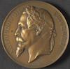 Medaille: Napoléon III – הספרייה הלאומית