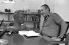 Preparing the statue of Shimon Peres for the Israeli Wax Museum – הספרייה הלאומית