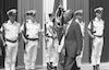 נשיא מצרים סאדאת מבקר בחיפה – הספרייה הלאומית