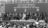 נשיא מצרים סאדאת מבקר בבאר שבע – הספרייה הלאומית