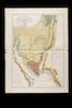 Geognostische Karte des peträischen Arabien und des südlichen Theiles von Sirien;nach den ... Joseph Russegger... in Wien – הספרייה הלאומית
