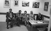 Victor Borga visiting the Diaspora Museum Beit Hatfutzot – הספרייה הלאומית